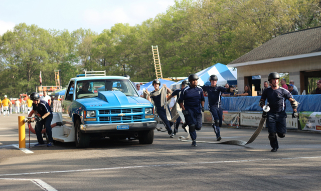 Cutchogue Fd Panthers Compete In Annual Motorized Drill