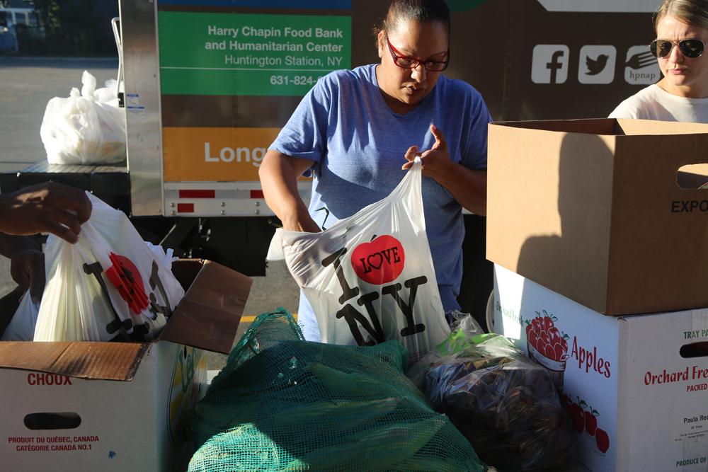 Riverhead School District hosts monthly food pantry Riverhead News