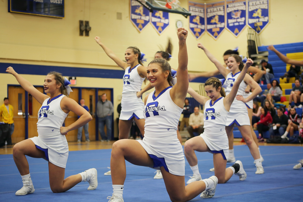 Top Sports Stories 2018 Another Banner Year For Riverhead Cheer
