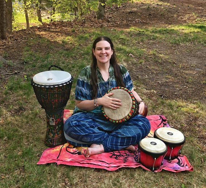 Erin Narumi Prince will host the first North Fork drum circle on May 20 in Greenport.