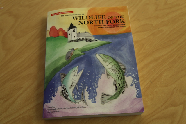Wild life book mattituck students