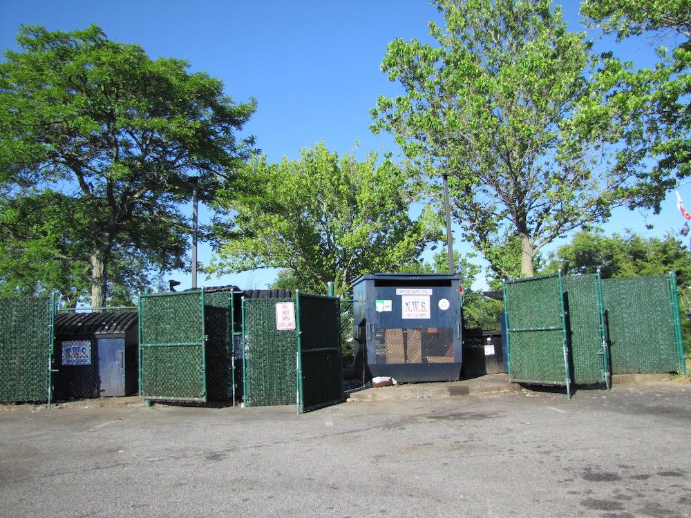 dumpster corral