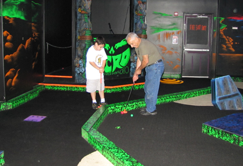 Gory, glow-in-the-dark fun: A look at Monster Mini Golf in Medford