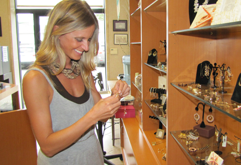 Miller Place woman designs, sells own jewelry