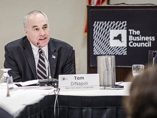 State comptroller Tom DiNapoli. (Credit. Flickr/nycomptroller)