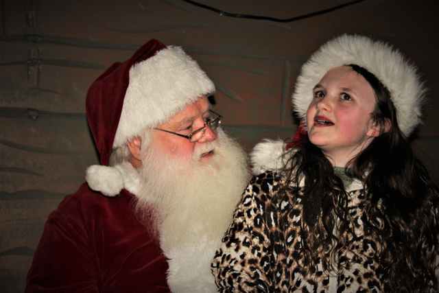 Bella decides what to ask Santa for Christmas – she chose video games. (Credit: Elizabeth Wagner)