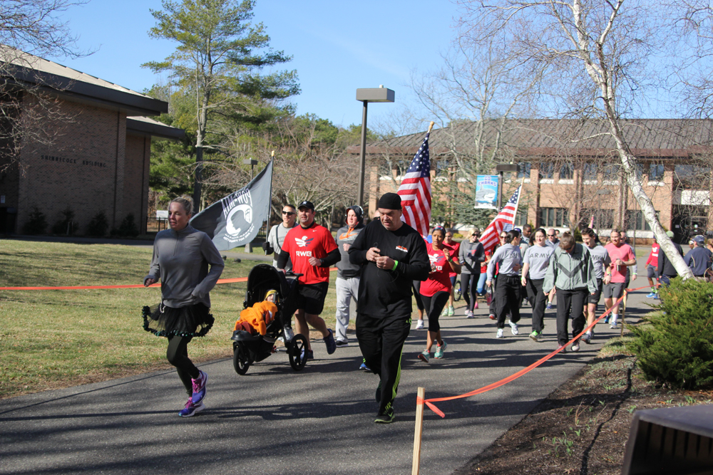 SCCC's Student Veteran Association-East's 5K event Saturday in Northampton. (Credit: Jen Nuzzo photos)