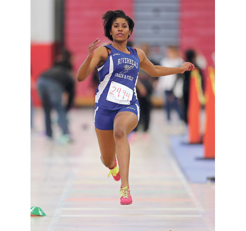 Riverhead's Ashley Courts will compete in the jumping events this year. (Credit: Daniel De Mato)