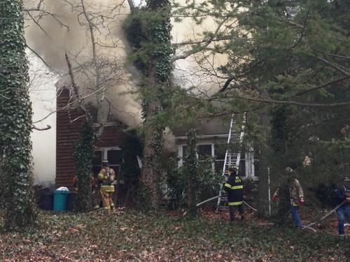 House fire in Aquebogue