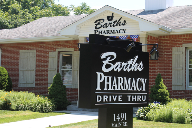 Barth's Pharmacy in Jamesport