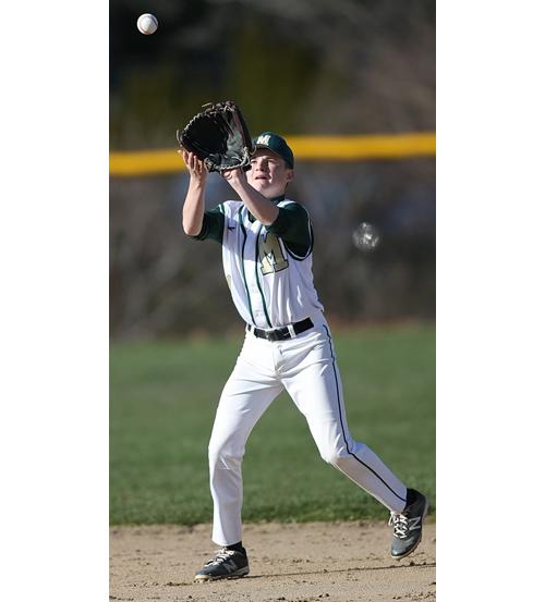 Bishop McGann-Mercy baseball player Matt Chilicki 041416