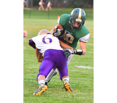 Bishop McGann-Mercy football player Max Beyrodt 090916