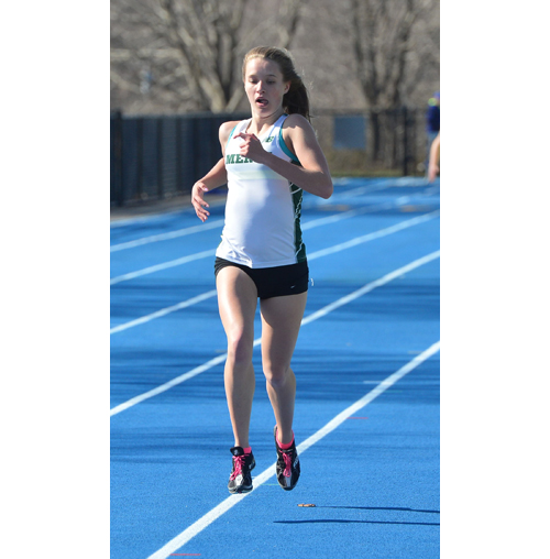 Bishop McGann-Mercy runner Meg Tuthill 031716