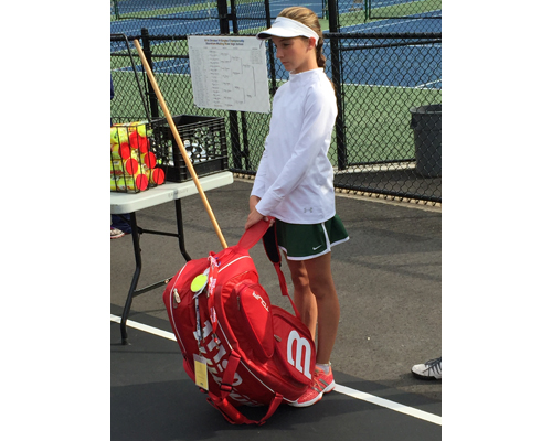 Bishop McGann-Mercy tennis player Rose Hayes 101316