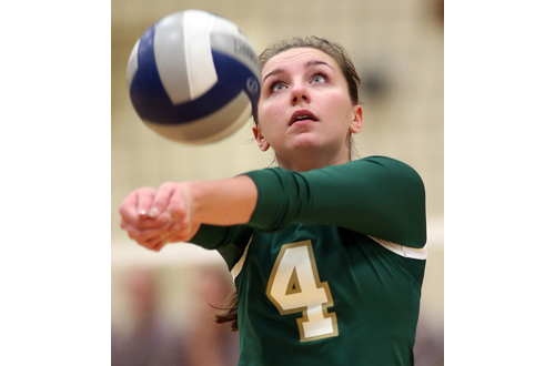 Bishop McGann-Mercy volleyball player Mia Behrens 090616