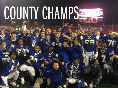 RECAP: Hubbard's three scores give Riverhead last-minute county title