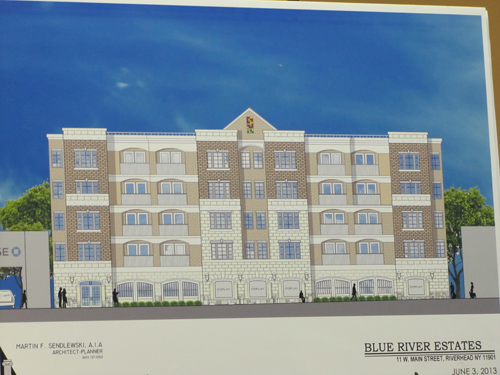 Tax breaks being sought for apartment complex