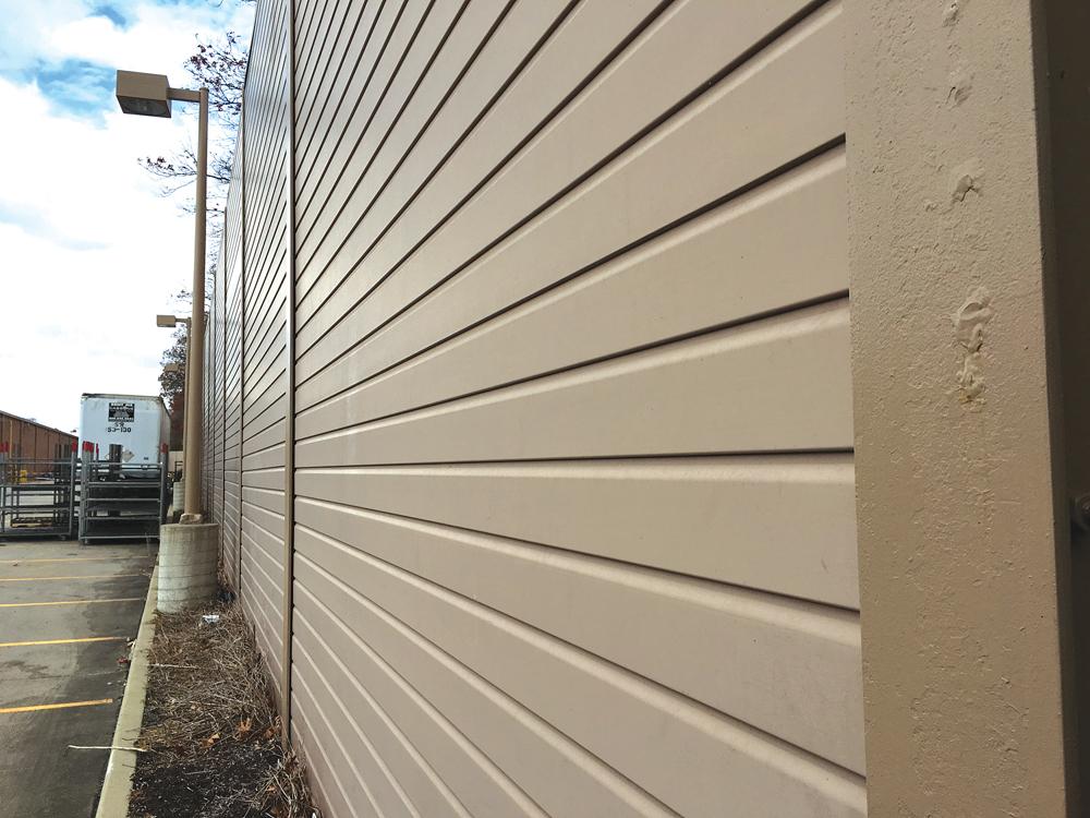 Brixmor wall