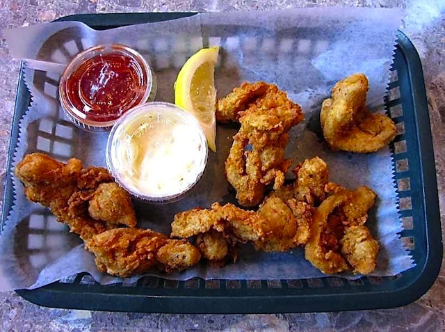 Fried Clams at Buoy One