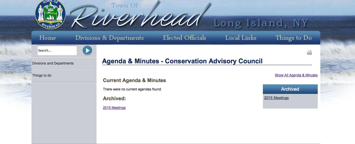 CAC agenda