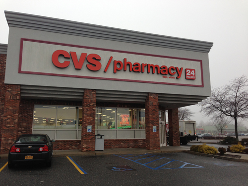 PAUL SQUIRE FILE PHOTO | The CVS location on ROute 58 in Riverhead.