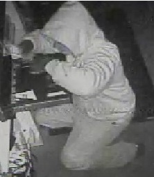 Police say this man broke into North Fork Bacon in Wading River. (Credit: Riverhead police)