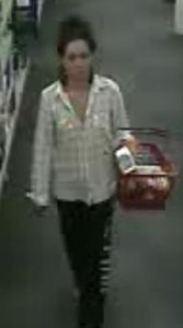 The woman police suspect stole from the Rocky Point CVS. (Credit: Courtesy)