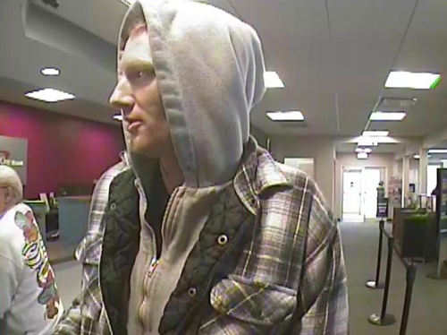 Police said this man robbed a bank in Rocky Point on Wednesday morning. (Photo courtesy SCPD)