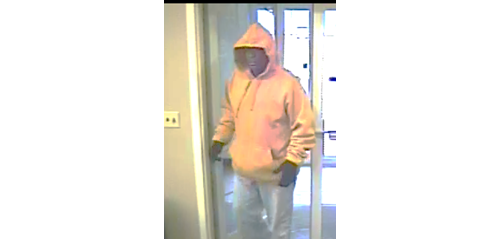 Police say this man robbed Capital One Bank in Riverhead on Tuesday. (Credit: Riverhead Town police)