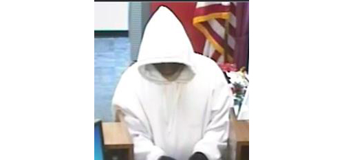 Police say this man robbed Capital One Bank in Jamesport on Tuesday. (Credit: Riverhead Town Police Department)