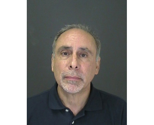 COURTESY PHOTO | A mug shot of Albert Carini from his arrest in July.