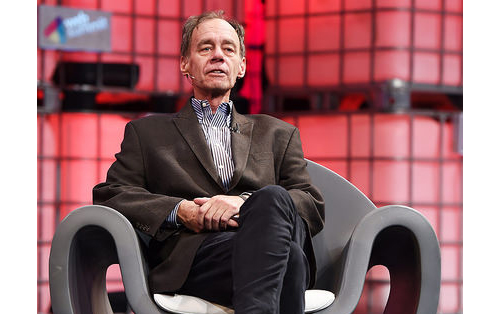 New York Times columnist David Carr at last year's WebSummit in Dublin. (Credit: Flickr/WebSummit. http://ow.ly/J17Xg)