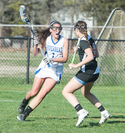 Hofstra-bound Carolyn Carrera led Riverhead in goals and assists last season. (Credit: Robert O'Rourk, file)