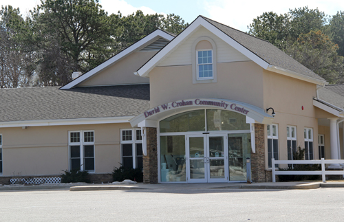 The David Crohan Community Center. (Credit: Carrie Miller, file)