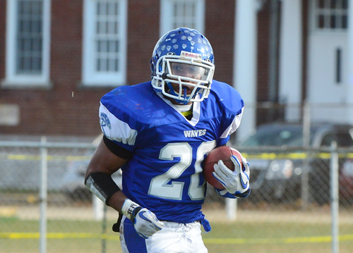 Football: Minus Cheatom, Blue Waves to face Carey today