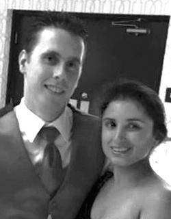 Lauren Chiaramonte and John Murphy