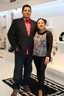 CARRIE MILLER PHOTO  |  Chic Creations owners Felix and Wendy Martinez opened their new store Saturday.