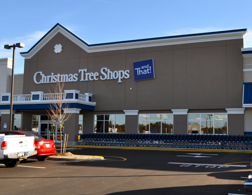 Christmas Tree Shops now open on Route 58
