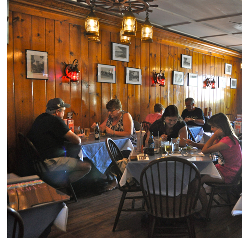 RACHEL YOUNG PHOTO | Downtown Riverhead restaurant Cliff's Rendezvous, which closed at the end of June due to damage from a kitchen fire, reopened its doors Sept. 7.