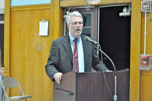 RACHEL YOUNG PHOTO  |  Shoreham-Wading River Superintendent Steve Cohen.