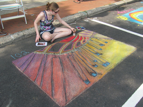 Street Painting Festival in Riverhead Sunday