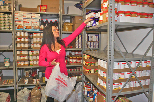 COURTESY PHOTO | Olga Torres, food pantry manager at the Long Island Council of Churches.