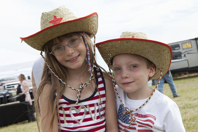 Sophie DePierro, 8, and brother Leo, 6, of Westhampton Beach.