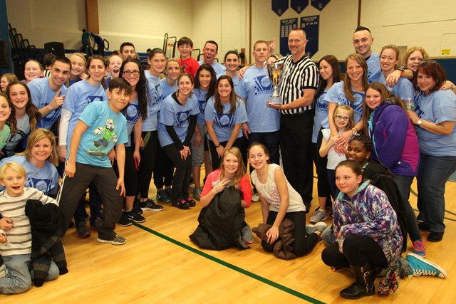 The Crazy Sports Night champions, Pulaski Street School. (Credit: Courtesy)