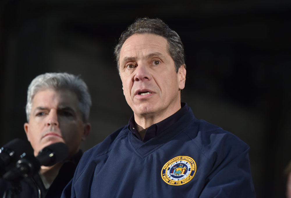 Governor Cuomo Announces Travel Ban on  Long Island and New York City
