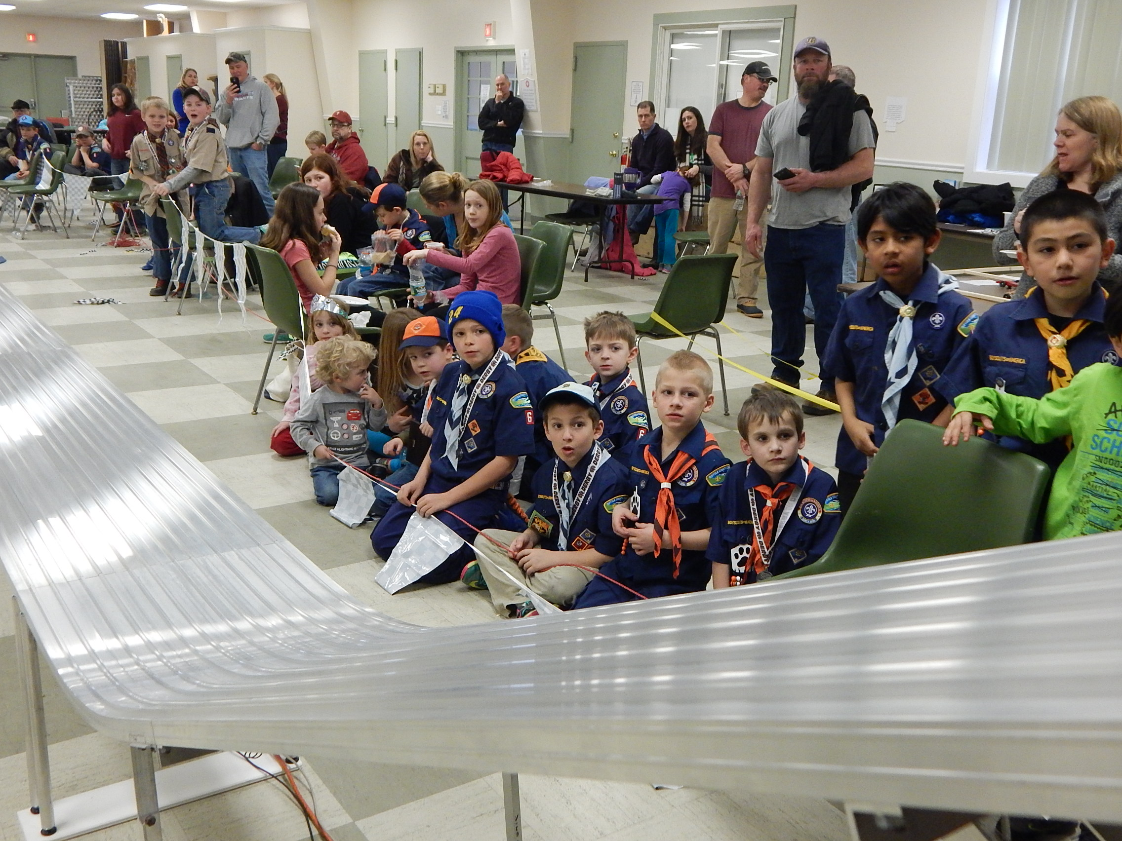 Courtesy Photos Of The Cub ScoutsPack 6 Pinewood Derby Night By Derek Bossen