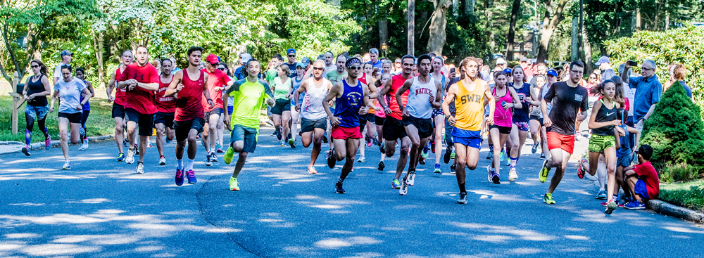 The start of the 5K. (Credit: Robert O'Rourk)