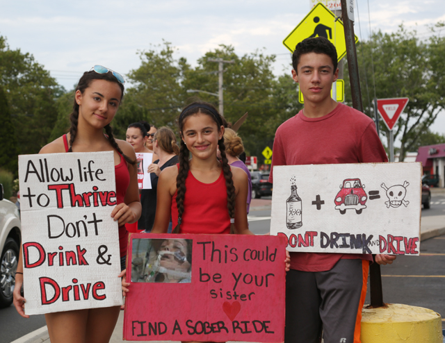 Ms. Jimenez was joined by her younger siblings: (Credit: Joe Werkmeister)