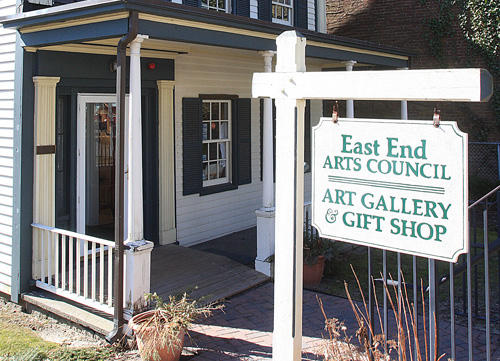 The East End Arts gallery on East Main Street in Riverhead. (Credit: File)