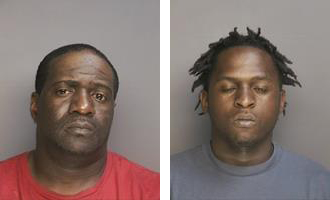 Jeffrey Pittman and Rasheed Manuel. (Courtesy RHPD)